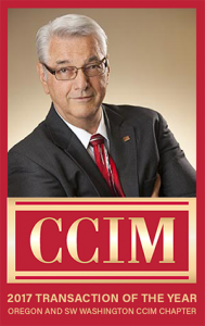 Bob Nelson 2017 CCIM Transaction of the Year