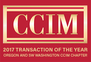 Bob Nelson 2017 CCIM Transaction of the Year Pacwest