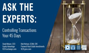 Bob Nelson Joins David Moore Talking About Controlling Transactions